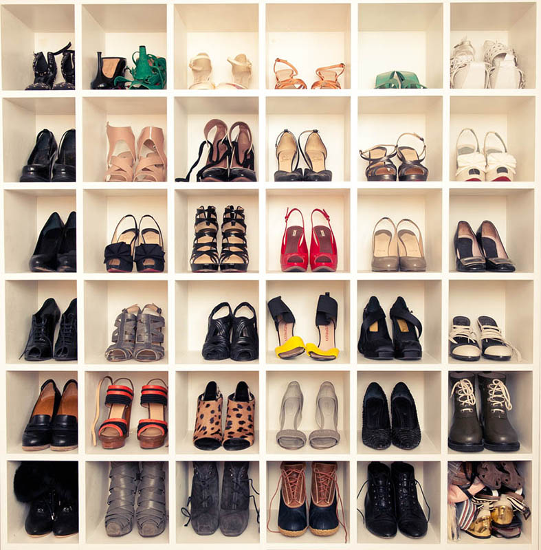 come sistemare le scarpe nell armadio